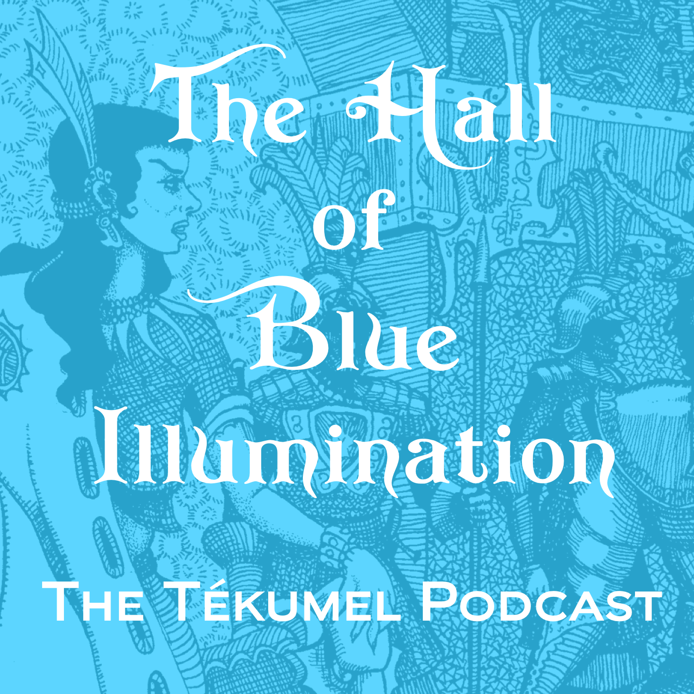 Hall of Blue Illumination